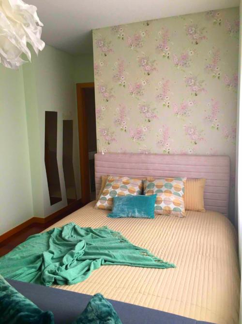 papel parede decoração quarto